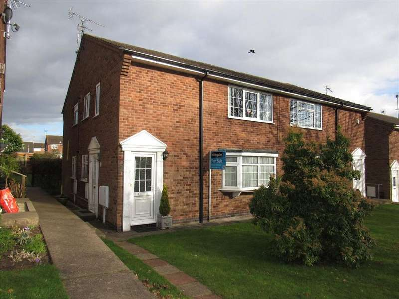 2 Bedrooms Maisonette Flat for sale in Arran Square, Mansfield, Nottinghamshire, NG19