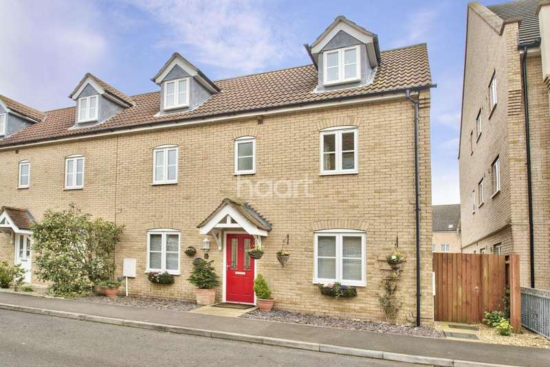 4 Bedrooms Semi Detached House for sale in Bevington Way, Eynesbury, St Neots