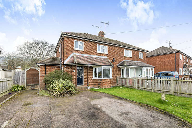 3 Bedrooms Semi Detached House for sale in Dynes Road, Kemsing, Sevenoaks, TN15