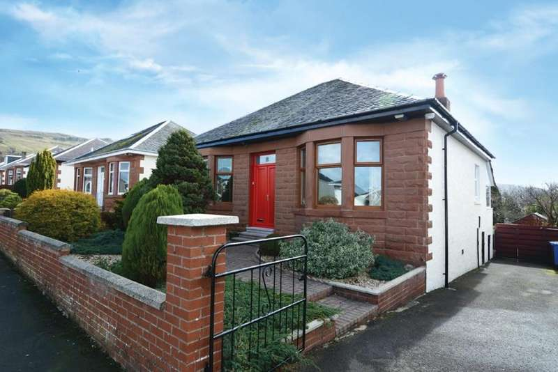 2 Bedrooms Detached Bungalow for sale in 8 Rankin Drive, Largs, KA30 9DA