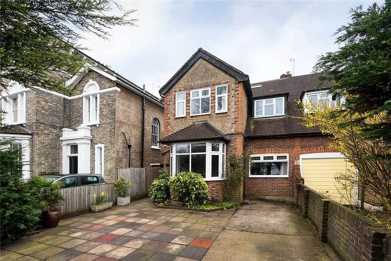 4 Bedrooms Semi Detached House for sale in Park Road, Hampton Hill, Hampton, TW12