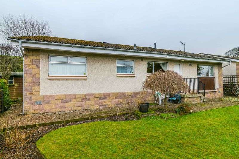 3 Bedrooms Detached Bungalow for sale in 5 Westwood Gardens, Galashiels, Scottish Borders, TD1 1RD