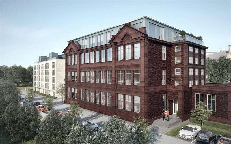 2 Bedrooms Flat for sale in Apartment 27 - The Atrium, Glasgow, G11