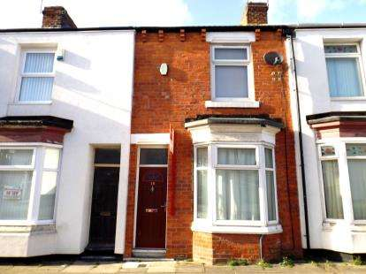 2 Bedrooms Terraced House for sale in Wylam Street, Middlesbrough