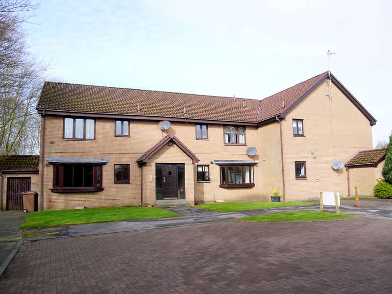 2 Bedrooms Flat for sale in McColgan Place, Ayr, KA8