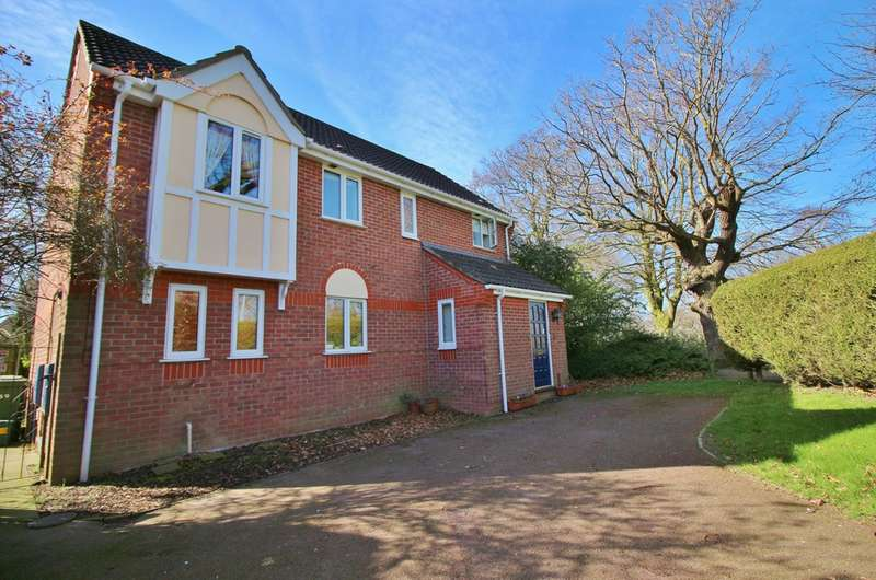 4 Bedrooms Detached House for sale in St. Marys Grove, Sprowston, Norwich