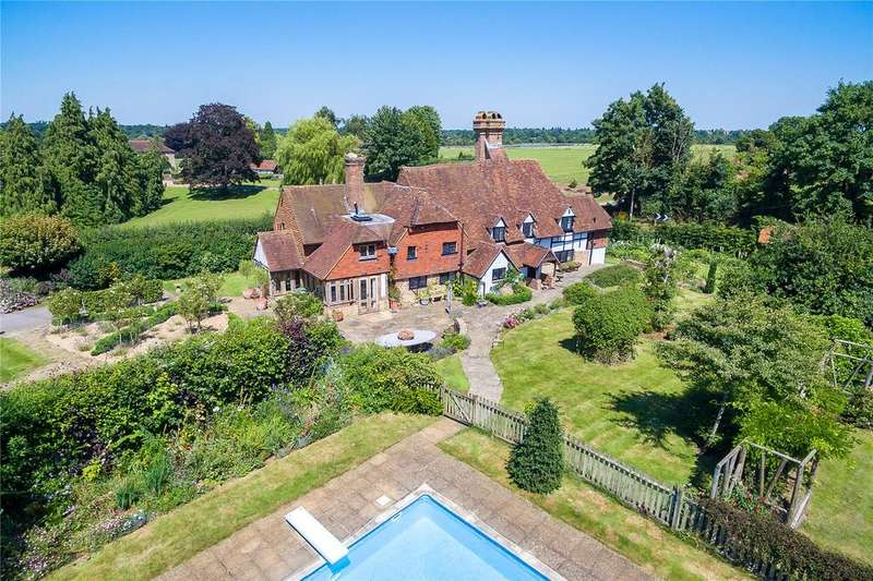 5 Bedrooms Detached House for sale in Eashing Lane, Godalming