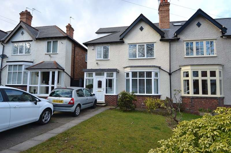 4 Bedrooms Semi Detached House for sale in Swanshurst Lane, Moseley, Birmingham