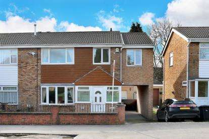 4 Bedrooms Semi Detached House for sale in Narrow Lane, North Anston, Sheffield, South Yorkshire