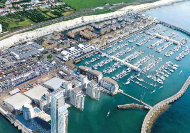 3 Bedrooms Flat for sale in Sirius, 6 The Boardwalk, Brighton, East Sussex