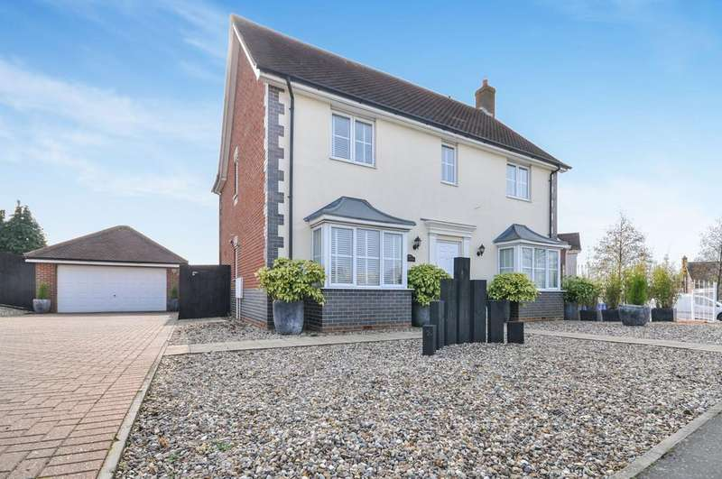 4 Bedrooms Detached House for sale in Church Lane, Stanway, West Colchester