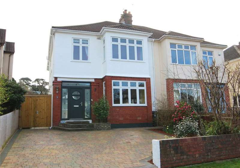 4 Bedrooms Semi Detached House for sale in Kewstoke Road, Stoke Bishop, Bristol, BS9