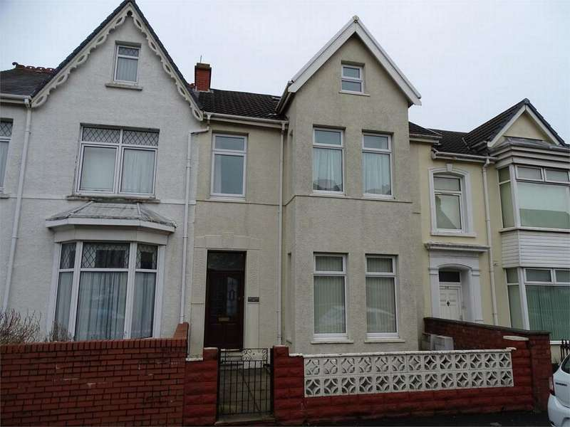 6 Bedrooms Terraced House for sale in 78 Alban Road, Llanelli, Carmarthenshire