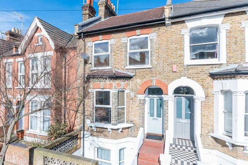 2 Bedrooms Maisonette Flat for sale in Crebor Street, East Dulwich, London, SE22