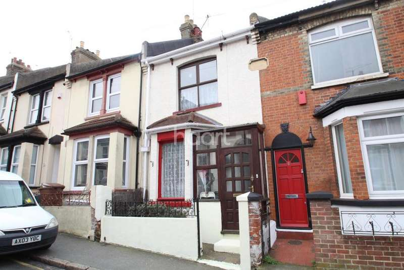 2 Bedrooms Terraced House for sale in Cecil Road, Rochester