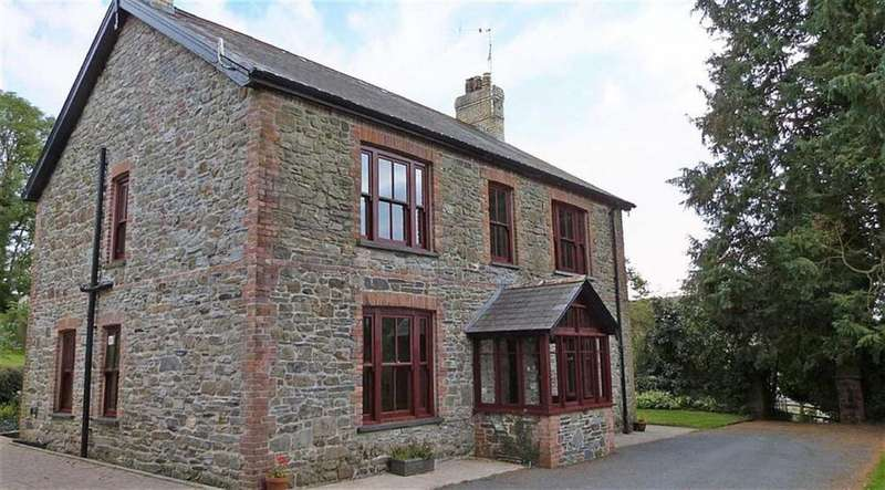 5 Bedrooms Property for sale in Llanfallteg, Whitland, Carmarthenshire