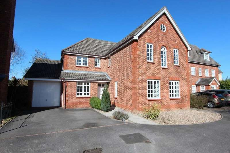 4 Bedrooms Detached House for sale in Upmill Close, West End SO30