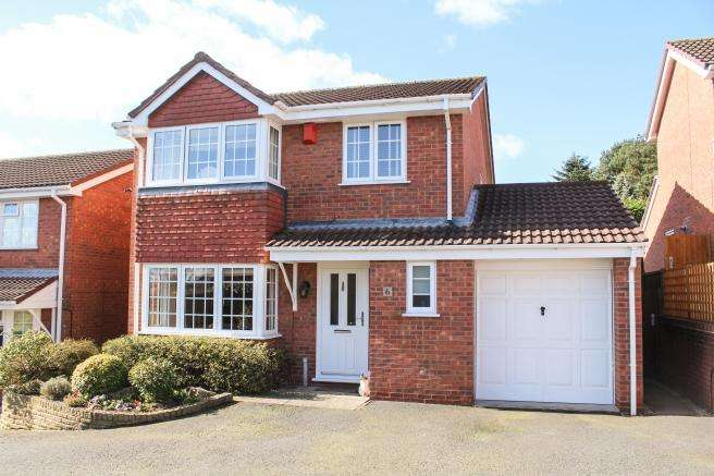 4 Bedrooms Detached House for sale in 6 Kingfisher Close, Newport, Shropshire, TF10 8QD