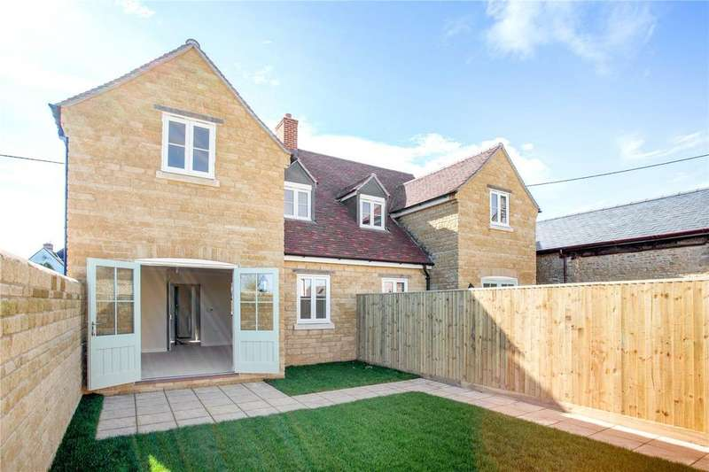 3 Bedrooms Semi Detached House for sale in Cowslip Cottage, Myrtle Farm, Main Road, Long Hanborough, Oxfordshire, OX29