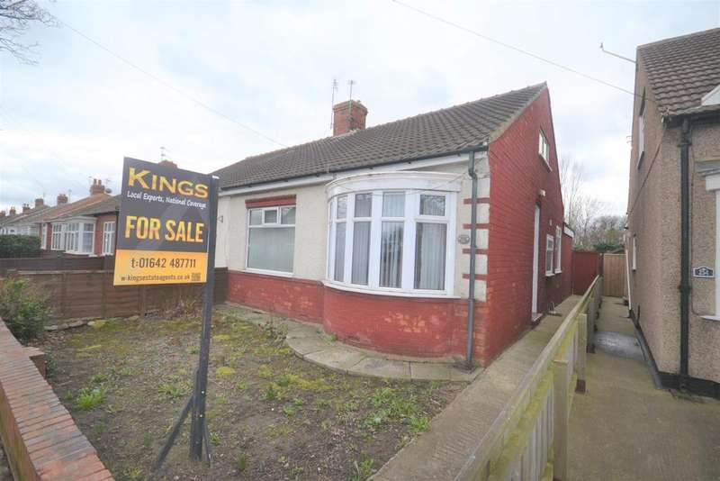 3 Bedrooms Semi Detached Bungalow for sale in Laburnum Road, Redcar TS10
