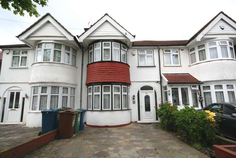3 Bedrooms Terraced House for sale in Hartford Avenue, KENTON HA3