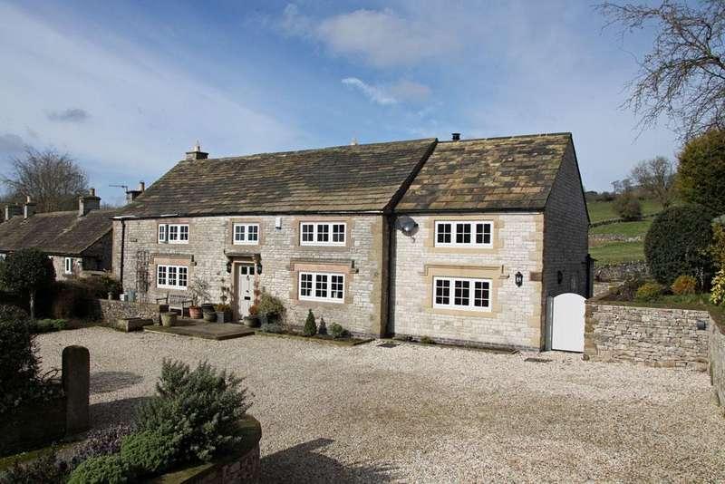 4 Bedrooms Detached House for sale in The Meadows, Main Street, Little Longstone, Bakewell, Derbyshire DE45 1NN