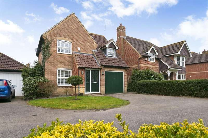3 Bedrooms Detached House for sale in Poppy Meadow, Paddock Wood