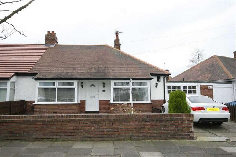 2 Bedrooms Semi Detached Bungalow for sale in Brantwood Avenue, Monkseaton, Tyne Wear, NE25