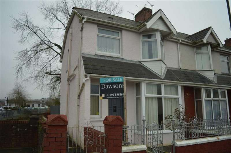 3 Bedrooms End Of Terrace House for sale in St Michael's Avenue, Swansea, SA4