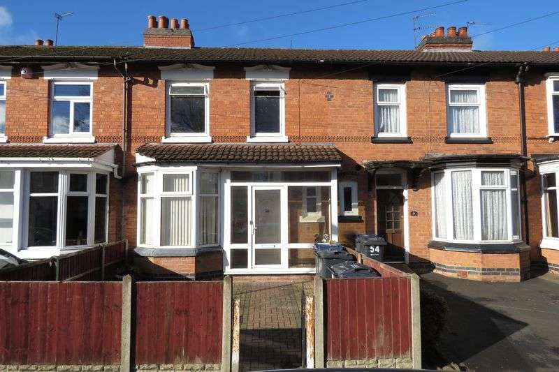 3 Bedrooms Terraced House for sale in Sarehole Road, Hall Green, Birmingham B28 8DR