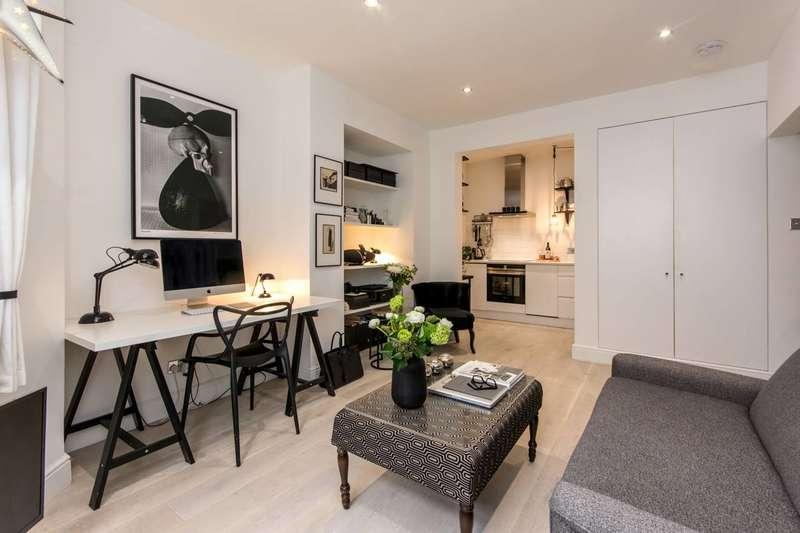 Studio Flat for sale in Sinclair Gardens, Brook Green, W14