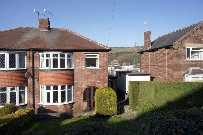 3 Bedrooms Semi Detached House for sale in Coronation Road, Stocksbridge, Sheffield, S36 1AX