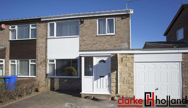 3 Bedrooms Semi Detached House for sale in Kirton Way, Cramlington