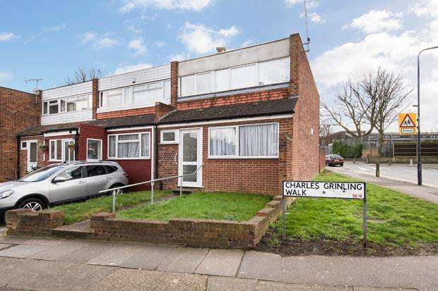 3 Bedrooms Terraced House for sale in Charles Grinling Walk, Woolwich, SE18