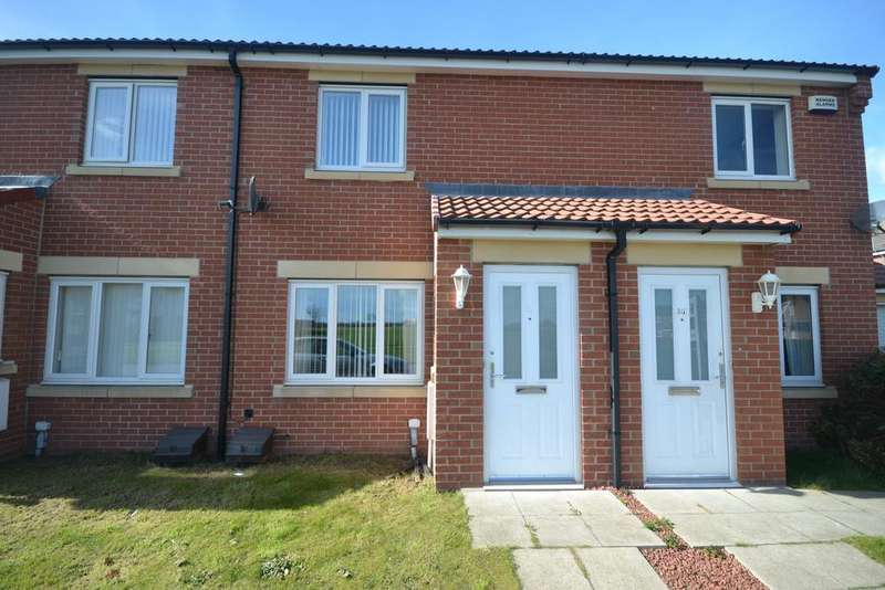 2 Bedrooms Terraced House for sale in Low Farm Drive, Redcar TS10