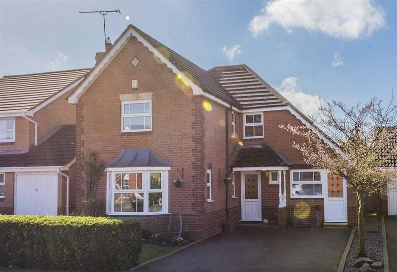 4 Bedrooms Detached House for sale in Longmeadow, Wootton, Northampton