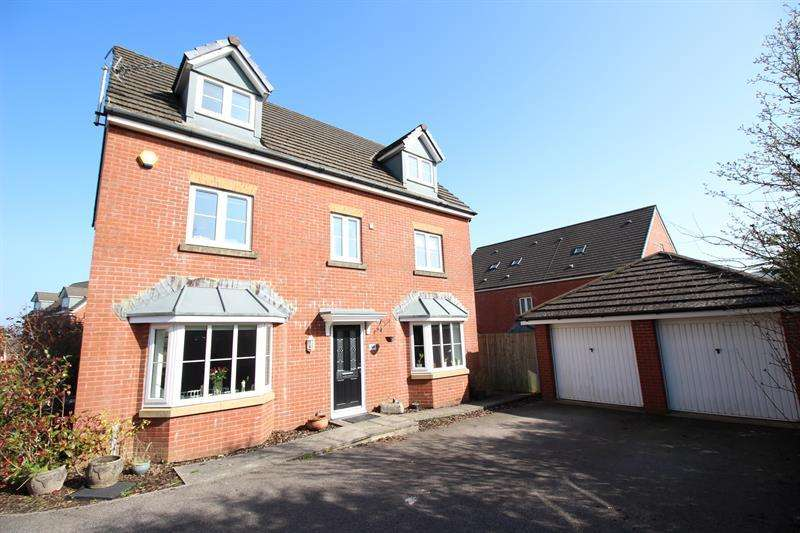 5 Bedrooms Detached House for sale in Drum Tower View, Caerphilly