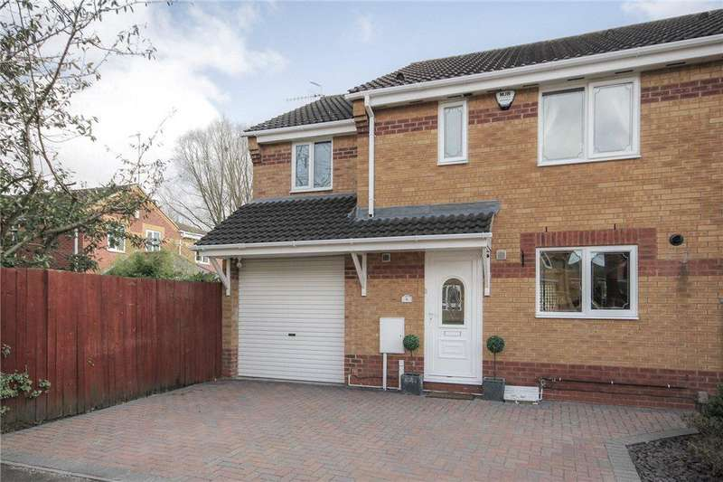 3 Bedrooms Semi Detached House for sale in Barrar Close, Wollaston, Stourbridge, West Midlands, DY8