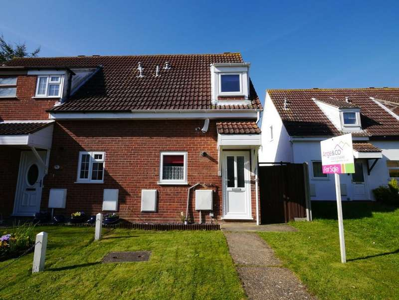 2 Bedrooms End Of Terrace House for sale in Celandine Close, Carlton Colville, Lowestoft