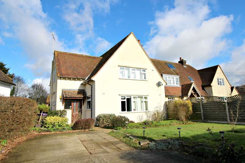 3 Bedrooms Semi Detached House for sale in Waterdell Lane, St Ippolyts, Hitchin, SG4