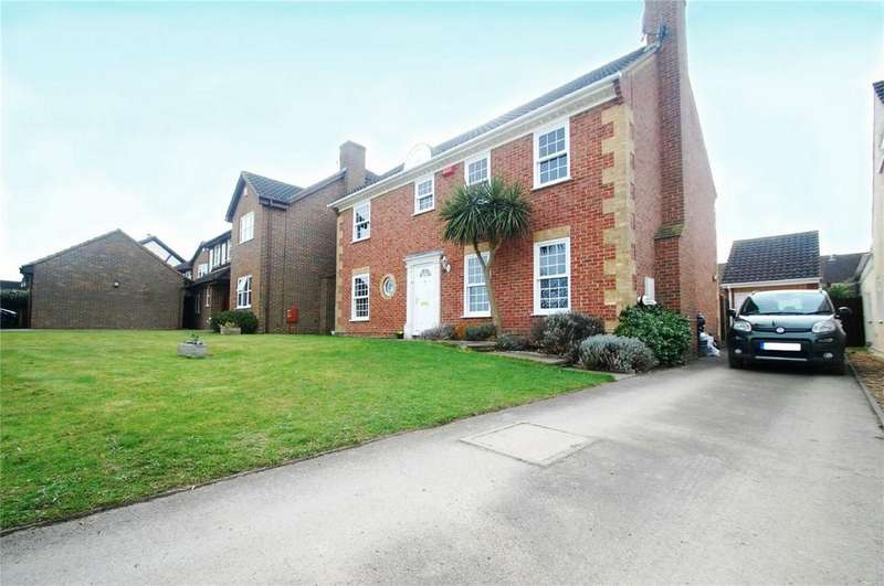 4 Bedrooms Detached House for sale in Harrow Road, Hempstead, Gillingham, Kent