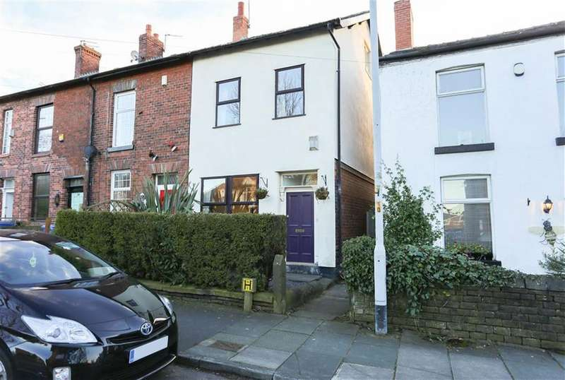 4 Bedrooms End Of Terrace House for sale in George Lane, Bredbury, Cheshire