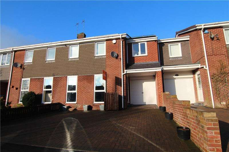4 Bedrooms Terraced House for sale in Norburn Park, Witton Gilbert, DH7