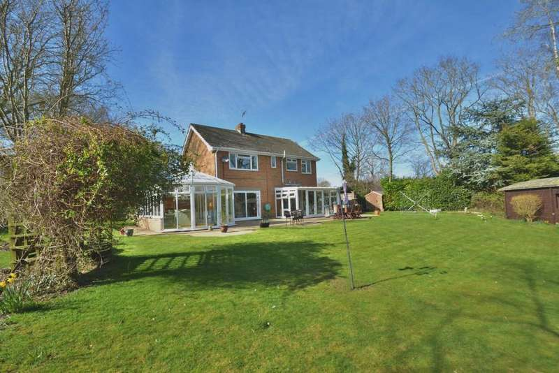 4 Bedrooms Detached House for sale in Wortwell, Harleston