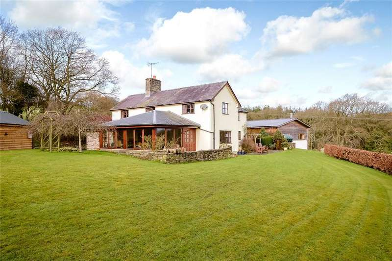 4 Bedrooms Detached House for sale in Slough Lane, Presteigne, Powys