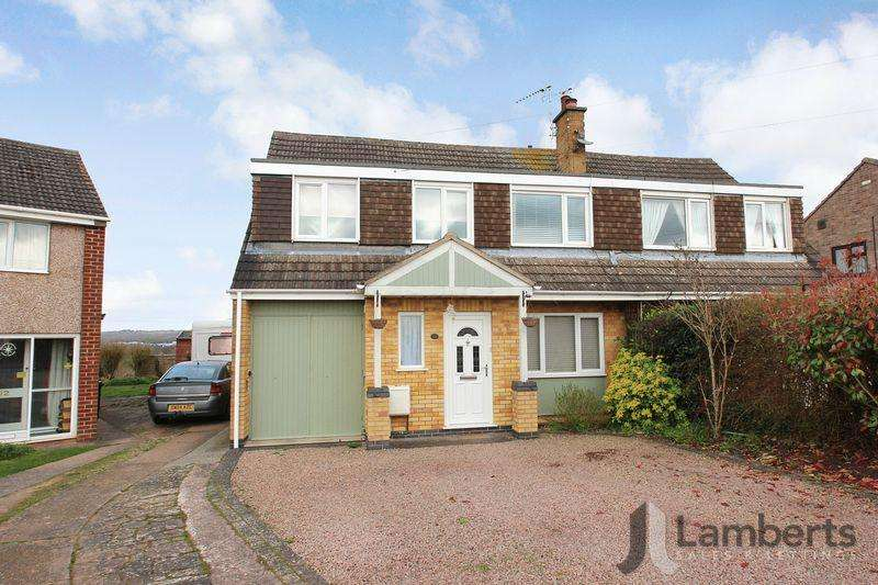 4 Bedrooms Semi Detached House for sale in St Judes Avenue, Studley
