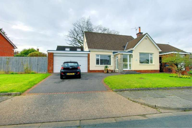 3 Bedrooms Detached Bungalow for sale in South Rise, Llanishen, Cardiff
