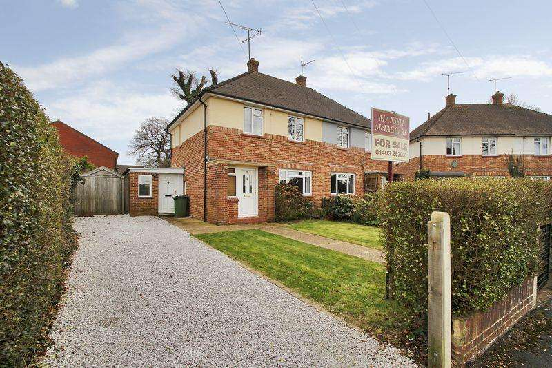 2 Bedrooms Semi Detached House for sale in Eversfield Road, Horsham