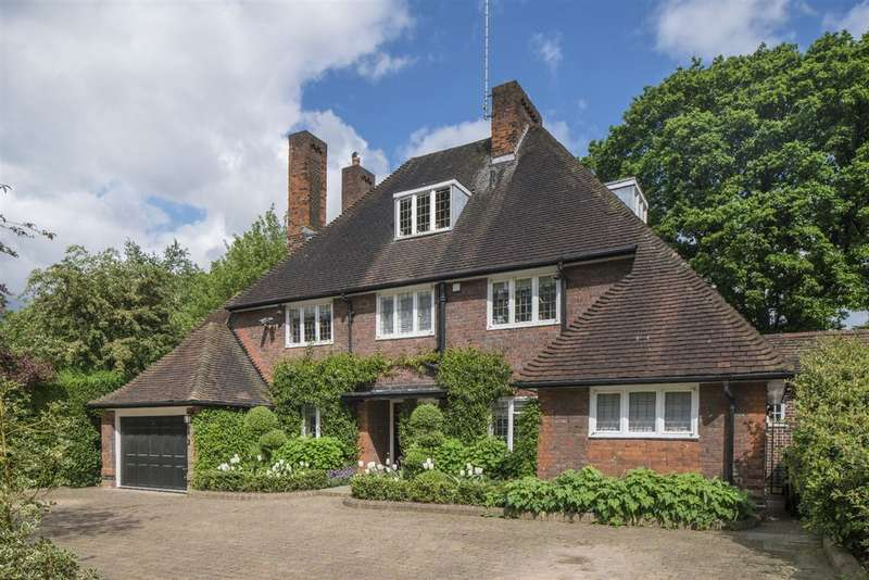 5 Bedrooms House for sale in Wildwood Road, Hampstead Garden Suburb, NW11