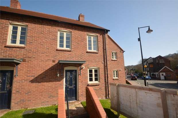 3 Bedrooms Terraced House for sale in 6, Foundry Mews, Coalbrookdale, TELFORD, Shropshire